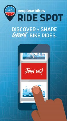 Discover + share great bike rides. Download the Ride Spot app today!
